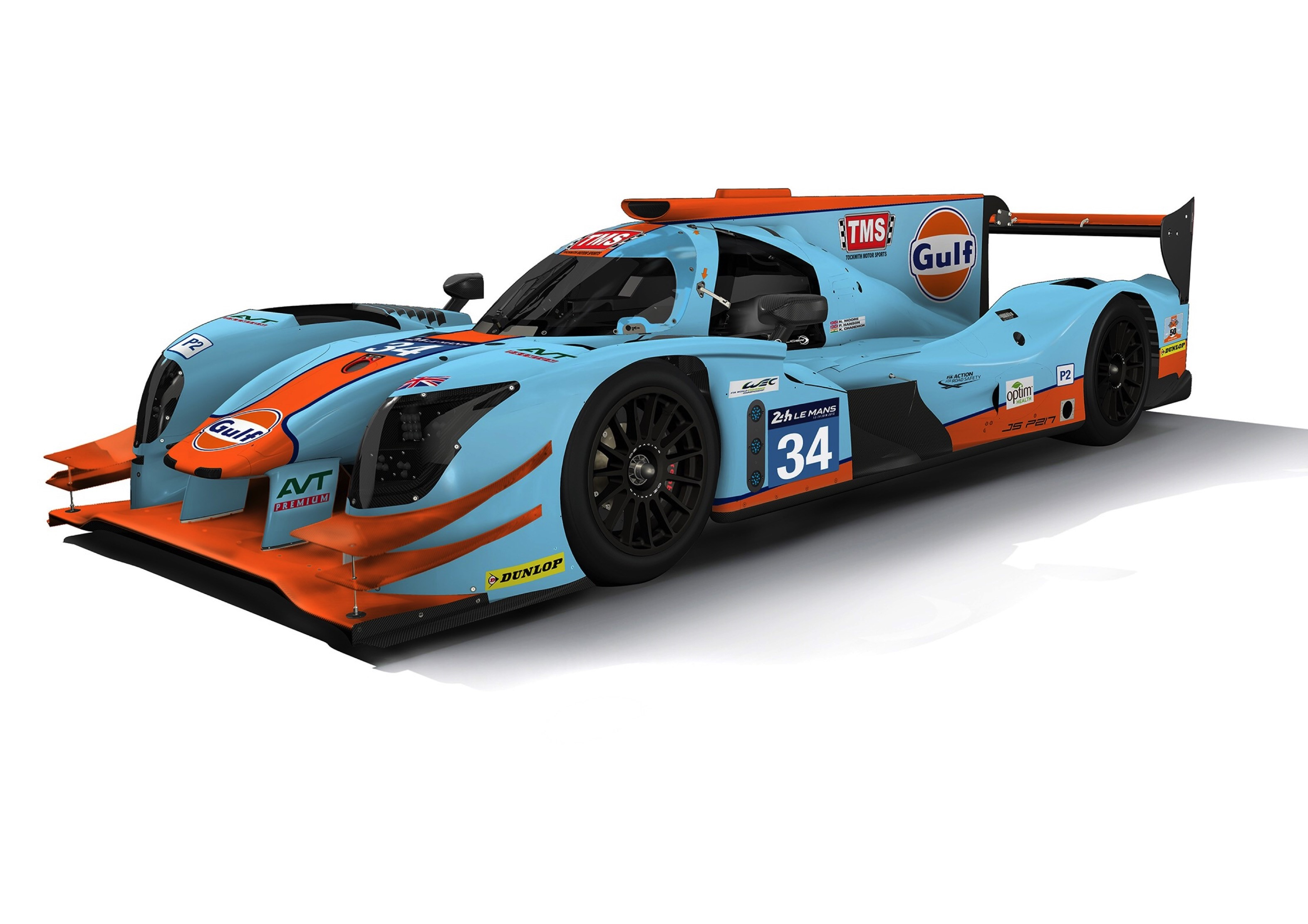 Gulf Colours to run in the LMP2 Category at Le Mans.jpg